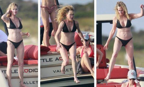 Una dintre cele mai frumoase actrite din toate timpurile, topless la 62 de ani